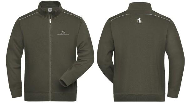 DFZ-Men's Workwear Sweat-Jacke